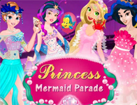 Princess Mermaid Parade