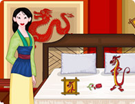 Princess Mulan Room Cleaning Girl Games