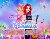 Princesses Music Stage
