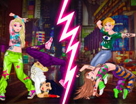 Princesses Street Dance Battle