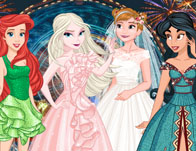 Princesses Wedding Guests