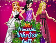 Princesses Winter Ball