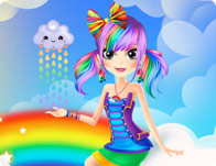 Rainbow Cutie Beauty Steps
