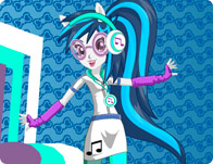 Rainbow Rocks DJ Pon-3 Dress Up