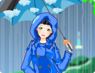 Rainy Days Dressup Game