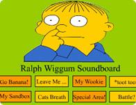 Ralph Wiggum Soundboard