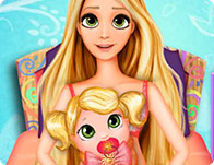 Rapunzel Baby Birth