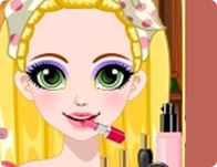 Rapunzel Glittery Make-up