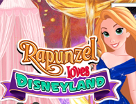 Rapunzel Loves Disneyland