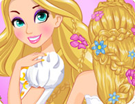 Rapunzel Wedding Braids School