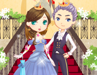 Romantic Royal Couple