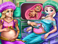 Royal BFFs Pregnant Check Up