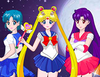Sailormoon Cyrstal Dress Up