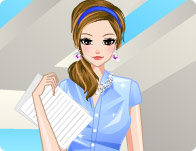 Secretary Girl Dress Up