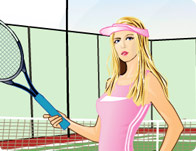 Sharapova Dress Up