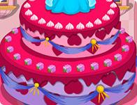 Sleeping Beauty Princess Birthday Cake Girl Games