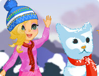 Click Here to Play Snow Friends!