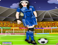 Soccer Girl Dress Up Fun