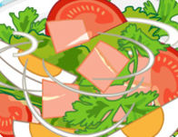 Speedy Salad Cooking Creation