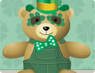 St. Patricks Bear