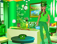 St Patrick's Day Room Decor