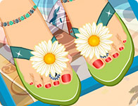 Summer Sandals Decoration