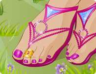 Click Here to Play Summer Sandals!