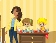 super baby sitter girl games