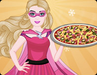 Super Barbie BBQ Chicken Pizza
