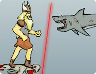Super Viking Shark Punch