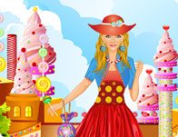 Sweet Candy Princess Dress Up
