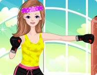 Tae-Bo Girl Dress Up