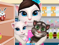 Talking Angela Easter Shopping