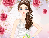 The Most Beautiful Bride Dress Up