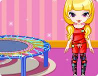 Trampoline Girl