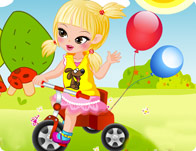 Tricycle Baby Dress Up