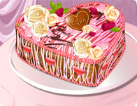 Heart Shaped Cake tile