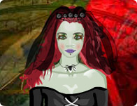 Vampire Bride Dress Up