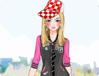 Varsity Jacket Dress Up