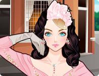 Vintage Girl Makeup