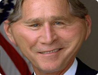 Warp George Bush