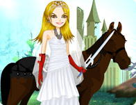 Warrior Bride Dress Up