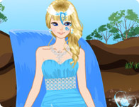 Waterfall Princess Dress Up