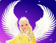 Winter Angel Dress Up
