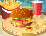 Click Here to Play Yummy Burger!