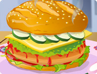 Yummy Hamburger Decoration