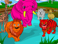 Zoo Coloring Animals